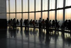 Observation deck viewpoint Stock Photography