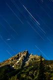 Observation des étoiles en parcs nationaux Images stock