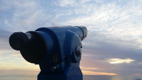 Observation du ciel Image stock