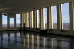 Observation floor in The Corning Tower,Albany,New York,2016 Royalty Free Stock Photo