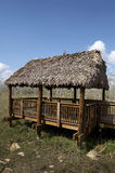 Observation hut. And platform at the Kirby storter roadside park big cypress national preserve, florida, united states, usa, taken in march 2006, The first Royalty Free Stock Photo