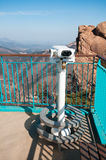 Observation point with telescope Stock Photography