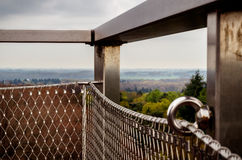 Observation post at kaapse woods Stock Images