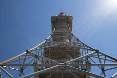 Observation Radio Tower Swiss Stock Image