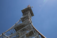 Observation Radio Tower Swiss Stock Images