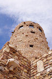 Observation stone tower Royalty Free Stock Photo