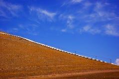 Observation Tower. Of bayinbuluke xinjiang autumn Royalty Free Stock Photography