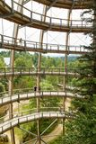 Observation Tower (Baumwipfelpfad) Stock Photos