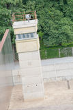 Observation tower at the Berlin Wall death strip Stock Photo