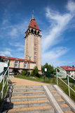 Observation Tower of Fisherman House in Wladyslawowo Royalty Free Stock Images