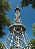Observation Tower In Prague Royalty Free Stock Photo