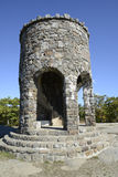 Observation tower at Mount Battie in Camden Maine royalty free stock photos
