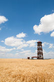 Observation tower under blue sky Stock Photography
