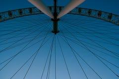 Observation wheel. Big ferris wheel on sky background Royalty Free Stock Photos