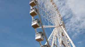 Observation Wheel Against the Blue Sky Royalty Free Stock Image