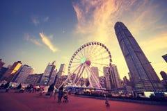 Observation Wheel, Hong Kong Royalty Free Stock Photos