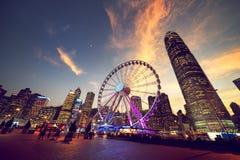 Observation Wheel, Hong Kong Stock Photography