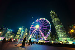 Observation Wheel, Hong Kong Stock Photos