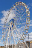 Observation wheel in Marseille Royalty Free Stock Images