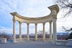 Observational ground. In city Sevastopol Stock Images