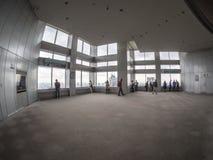 Observationsdäck på Tokyo storstads- regerings- byggnad fotografering för bildbyråer