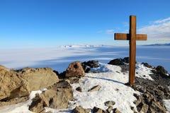 Observationskulle, McMurdo, Antarktis Royaltyfria Foton