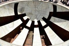 Observatoire astronomique Jantar Mantar, Inde Image stock