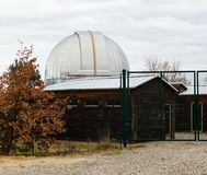 Observatoire astronomique multifonctionnel de chianti Photos stock