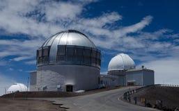 Observatoire astronomique sur le kea de mauna image stock