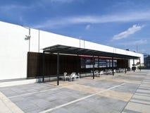 Observatoire dans l'aéroport de Taïpeh Songshan Photographie stock libre de droits