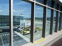 Observatoire dans l'aéroport de Taïpeh Songshan Photos libres de droits