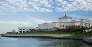 observatoire de Chicago d'aquarium image stock