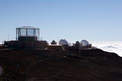 Observatoire de Haleakala Images libres de droits