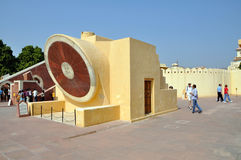 Observatoire de Jantar Mantar Photos stock