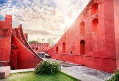 Observatoire de Jantar Mantar Photographie stock