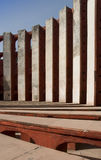 Observatoire de Jantar Mantar, Delhi - groupe Photos stock