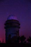 Observatoire de l'espace de Sanglok dans Nurek le Tadjikistan Photo stock