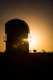 Observatoire de l'espace de Sanglok dans Nurek le Tadjikistan Photo libre de droits