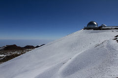 Observatoire de Mauna Kea Photos stock