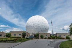 Observatoire de meule de foin de Massachusetts Institute of Technology Photo stock