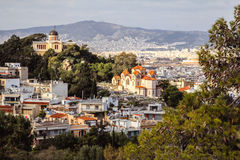 Observatoire national d'Athènes Photo libre de droits