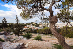 Observatoire national d'Athènes Image libre de droits