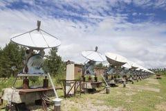 Observatoire solaire en Sibérie orientale Photographie stock