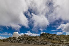 Observatoire sur la montagne