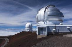 Observatoires sur Mauna Kea, salut Photo libre de droits