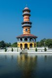Observator tower, Bang Pa-In, Thailand Stock Photo