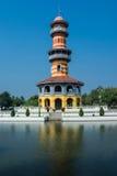 Observator wierza, uderzenie w, Tajlandia Zdjęcie Stock
