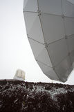 Observatories and snow Stock Photography