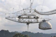 Observatorio 2 de Arecibo Fotografía de archivo libre de regalías