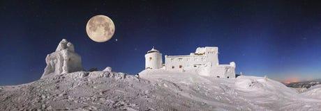 Observatorio antiguo de Cárpatos Fotos de archivo